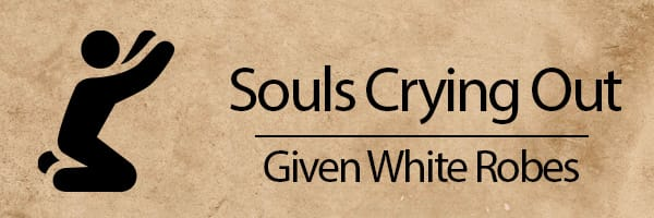 5th seal: Souls crying out under altar