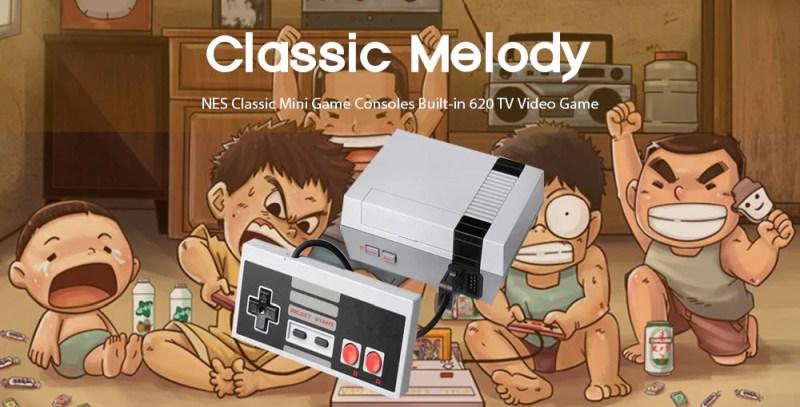 nes classic mini game consoles built-in 620 - NES Classic Mini Game Consoles Built in 620 - NES Classic Mini Game Consoles Built-in 620 Gearbest Coupon