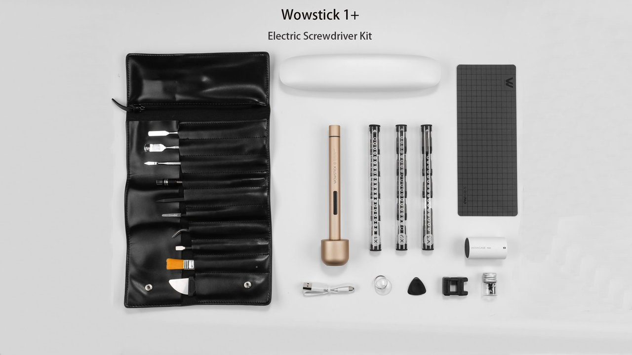 wowstick 1f+ - XIAOMI Wowstick 1plus Precision Electric Screwdriver Set - Wowstick 1F+ Electric Screwdriver Bits Toolkit Gearbest Coupon