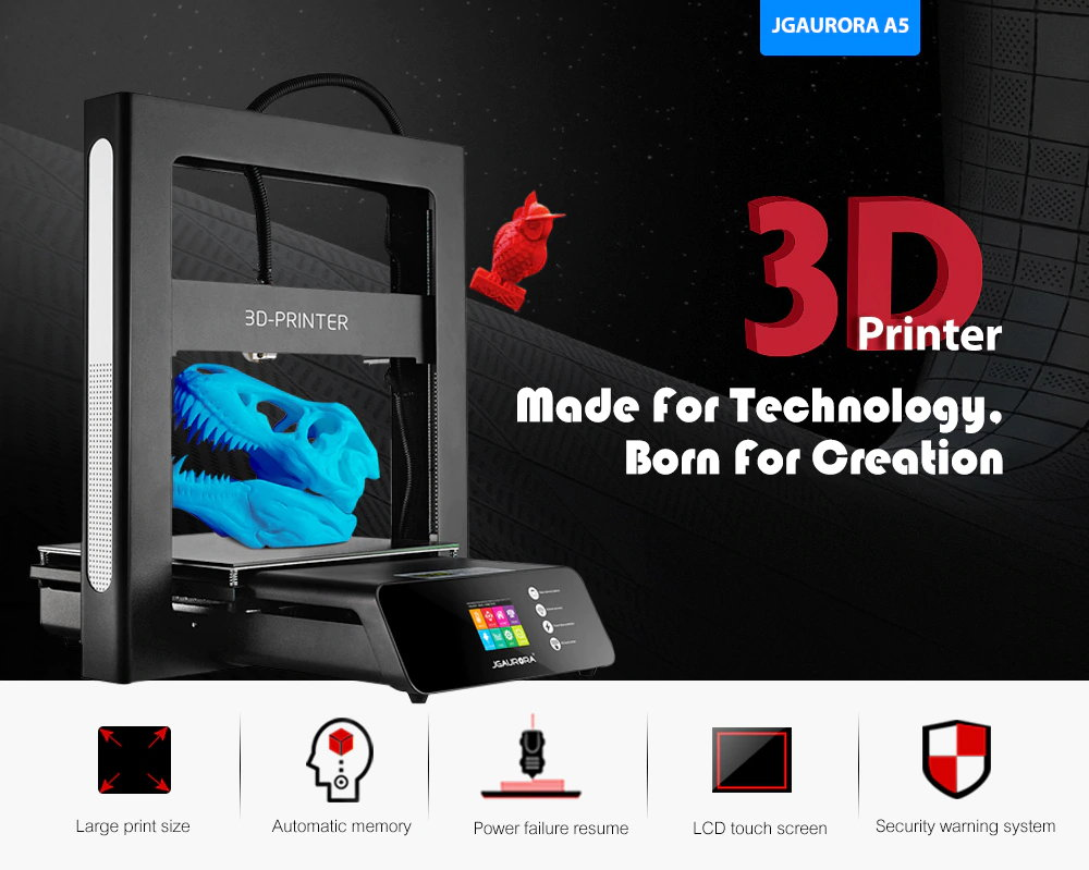 31% off JGAURORA A5 3D Printer Gearbest Coupon Promo Code