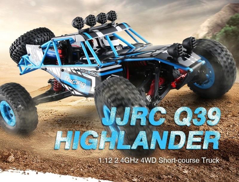 JJRC Q39 HIGHLANDER 1:12 4WD RC Desert Truck Gearbest Coupon [Israel-Middle East]