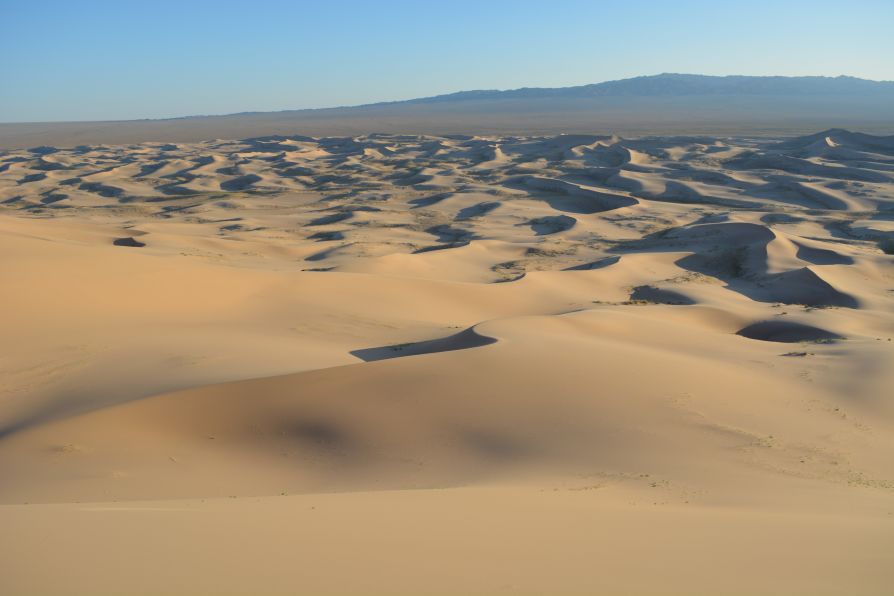 Désert de Gobi dunes