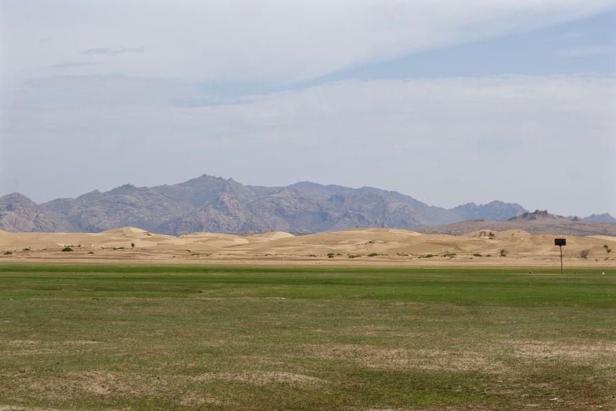Ceci n'est pas le désert de Gobi!