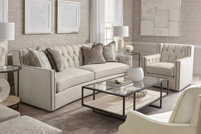 Candace Sofa Candace 1 Candace 1.jpg By Bernhardt%5F Leather or fabric upholstery%5FCurved back and frames%5FRange of upholstery options%5F