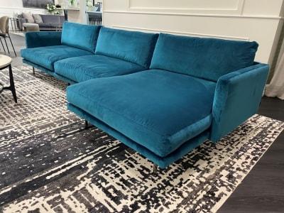 Mies Sofa Chaise Raf<Br /> Clearance
