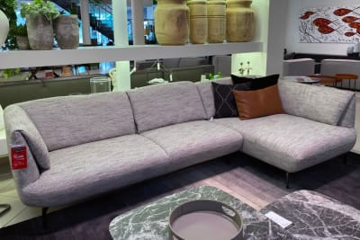 Fold Sofa With Chaise <Br /> Clearance