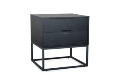 Cubic 2 Drawer Bedside