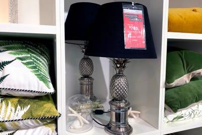 Bermuda Pineapple Lamp <Br /> Clearance