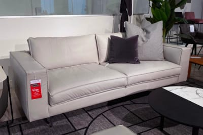 Square Sofa And Ottoman Package <Br /> Clearance