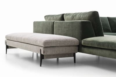 Kim Ottoman & Bench Seat
