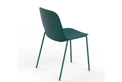 Vela 4 Leg Metal Chair