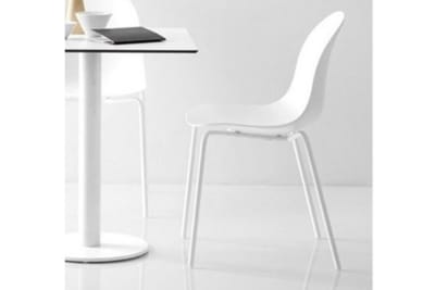 Academy Chair 4 metal legs White seat and white powder coated legs Calligaris Connubia.jpg Academy Chair- Four leg_ Calligaris_White seat Academy Chair 4 metal legs White seat and white powder coated legs Calligaris Connubia.jpg