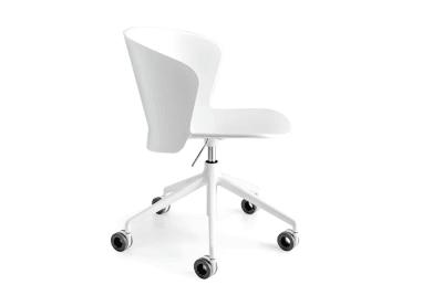 Bahia Office Chair Gas Lift White_cs1839_P20P_back.jpg  Bahia Office Chair with Gas Lift - White White - cs1839 Calligaris  Bahia Office Chair Gas Lift White_cs1839_P94_back.jpg Bahia Office Chair with Gas Lift - White White - cs1839 Calligaris
