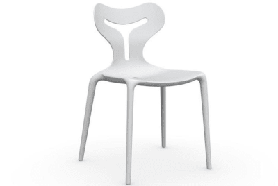 Area 51 Chair - Matt Optic White