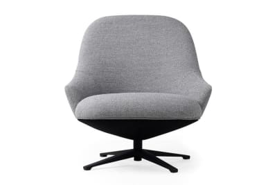 Turi Swivel Chair: Coast Pewter (8)
