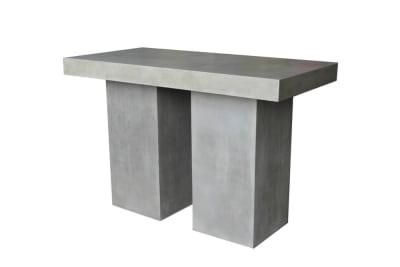 Raphael Bar Table Lge (TAB284)  Raphael Outdoor Dining Collection - Papaya  Papaya Raphael Outdoor Concrete Steel Black