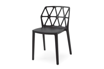 Alchemia Chair: Matt Black