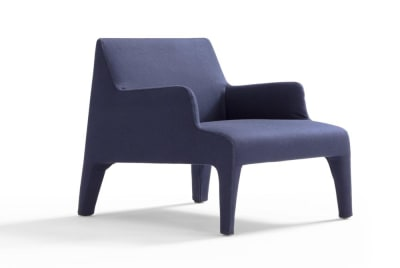 Frida Chair - Dark Blue Fabric