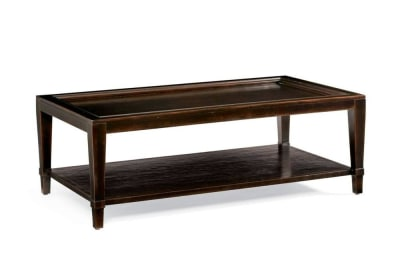 Vintage Patina Rectangular Coffee Table in Molasses