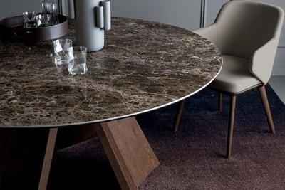 Icaro Round cs 4113 rd 160 c 03.jpg Icaro_Calligaris_Non-extending table with optional tray_Busetti / Garuti / Redaelli_ cs 4113 rd 160 c 03.jpg