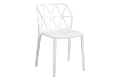Alchemia Chair: Matt Optic White