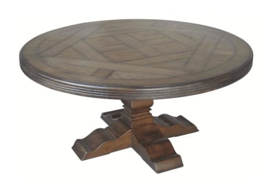 Versailles Round Dining Table 220cm: Old Oak