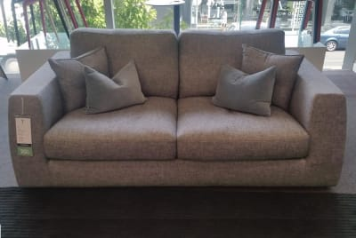 Liv 2 Seater in Bouclé Grey
