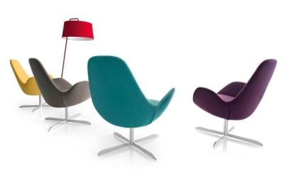 electa colours Electa range Electa, Calligaris, armchair