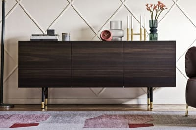 Horizon buffet 3.jpg Horizon buffet_ By Callligaris_ Made in italy_ Designed by Marelli Molteni_Wooden and metal sideboard_ Glass or ceramic top Horizon buffet 3.jpg