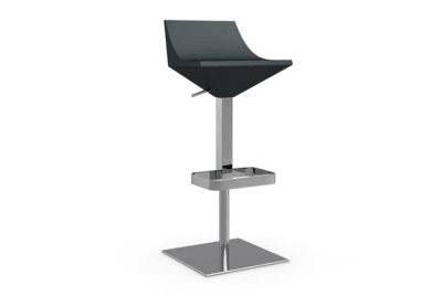 fly gas lift stool dark grey calligaris fly stool dark grey