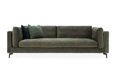 Danny Large Sofa (0031) Grey/Beers Grey