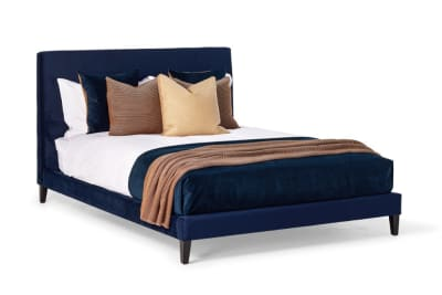 Linear KS Bed: Midnight Velvet