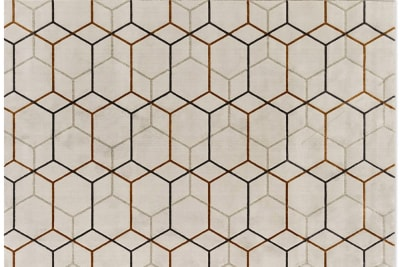 Offset 1.jpg Offset Rug_ By Calligaris_ Made in Italy_ Designed by Brogliato Traverso_Series of intersecting Lines_Multiple overlapping layers_ Hexagonal pattern Offset 1.jpg