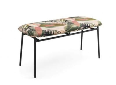 cs 5126 thumb.jpg Fifties Bench_Made by Calligaris_ Made in Italy_ Design by Busetti Garuti Redaelli_Inspired by the 50s_Four metal legs_Fabric or leather upholstery. cs 5126 thumb.jpg