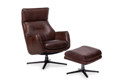 Duke Recliner & Otto: Saddle Leather