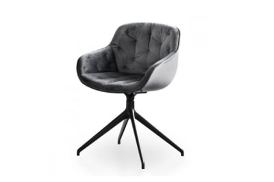 Igloo soft swivel chair.jpg Igloo soft swivel chair_ By calligaris_Made in italy_ Tufted seat detail_Fabric upholstery_Swivel base_Velvet fabric Igloo soft swivel chair.jpg
