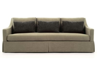 Albion Sofa Albion Sofa Natural Black Cushions  Bernhardt Albion Sofa
