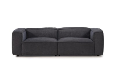 Basso 3 Seater in Charcoal Weave