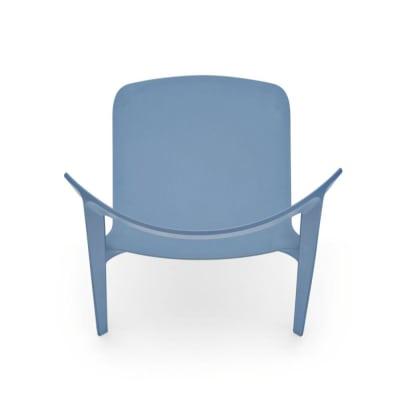 Skin cs1391 P100 UP  Calligaris Skin Chair  sky blue