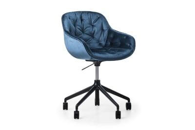CS1873 Igloo Soft Office Chair Ocean Blue Venice Black Metal Frame Calligaris Angle CS1873_Igloo_Soft_Office_Chair_Ocean-Blue-Venice_Black-Metal-Frame_Calligaris_Angle.jpg