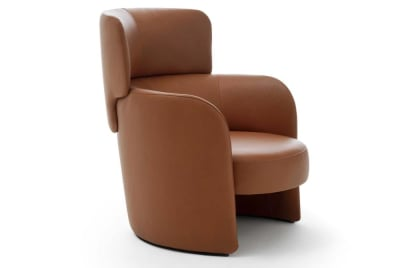 Claire Claire Angle  Claire Armchair  Claire Ditre Italia Tan Leather Armchair