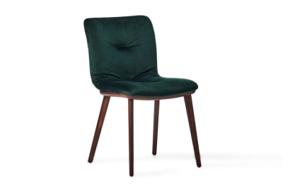 Annie Soft Chair Smoke/Forest Green