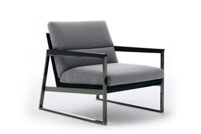 Daytona DAYTONA-Ditre-Italia-248943-rel246e196.jpg  Daytona Armchair - Taupe Fabric - Black Leather - Black Nickel Frame - Made in Italy - Ditre Italia - Square metal frame armchair - Contemporary design - Sleek design  DAYTONA-Ditre-Italia-248943-rel246e196.jpg Daytona Armchair - Taupe Fabric - Black Leather - Black Nickel Frame - Made in Italy - Ditre Italia - Square metal frame armchair - Contemporary design - Sleek design