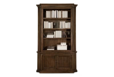 Huntington Shaped Bookcase