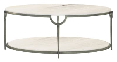 MORELLO COFFEE TABLE Morello Coffee Table Bernhardt 469 013 0  Morello Bernhardt Stone Metal  Morello Bernhardt Stone Metal Console