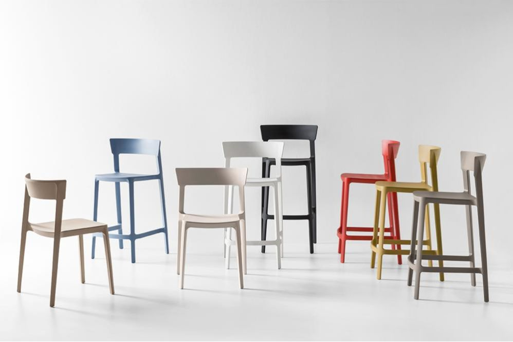 Skin_Fam_02 Skin Family Chairs Stools Calligaris Moulded Poly Propylene  Skin_Fam_02 Skin Family