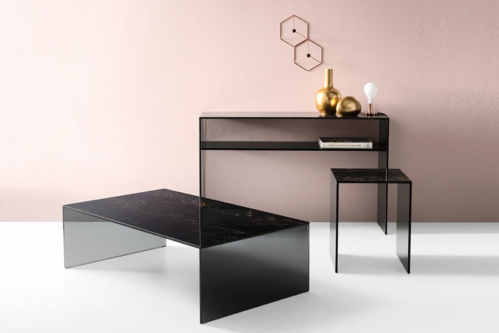 Bridge_Fam.jpg  Bridge Coffee Table Side Table Console Table - setting - Calligaris - Ceramic Smoke Glass  Bridge_Fam.jpg Bridge Coffee Table Side Table Console Table - setting - Calligaris - Ceramic Smoke Glass
