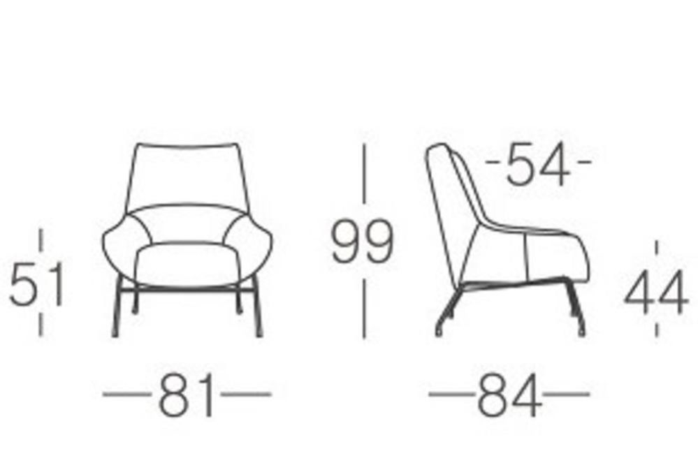A1112   Schematics Edit ST Sabine Chair A