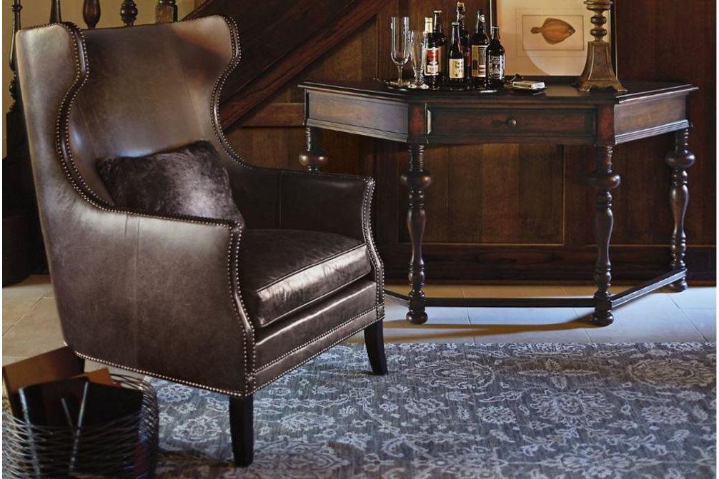 kingston wing armchair  Bernhardt March 2015