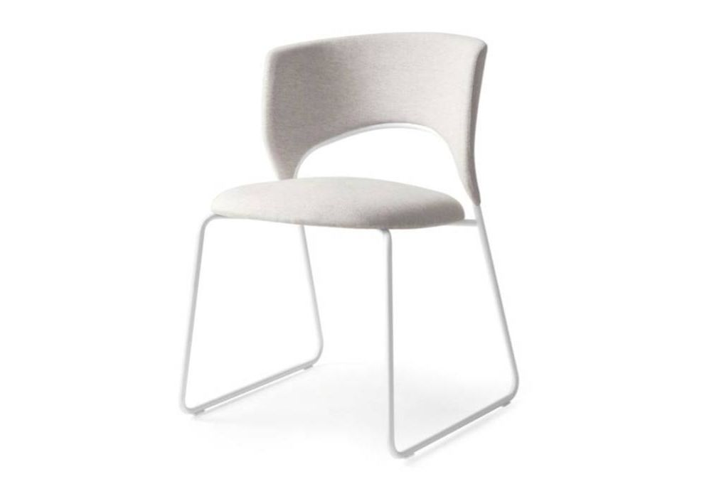 duffy dining chair white front  Calligaris product shots   Match, Duffy